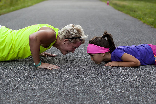 5 Lessons I learned about how to work out WITH my kids!